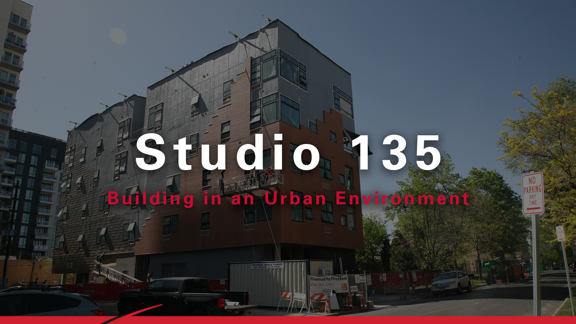 Building in an Urban Environment: Studio 135